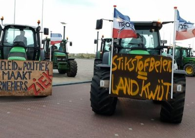 Noordwijk - Omroep West - Boerenvlag - Trotsvlag