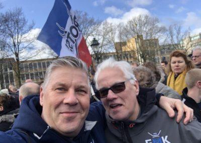 Boerenvlag - Matties in Den Haag