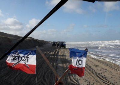 Boerenvlag - Trekk's on the Beach!